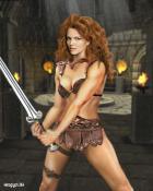 Red Sonja by Heroglyh