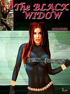 Comic Cover Contest - Black Widow by Scarlet