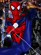 Spidergirl Swings over New York