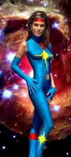 Dazzler in space