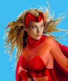 Scarlet Witch  close-up