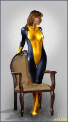 Shadowcat and Antique Chair