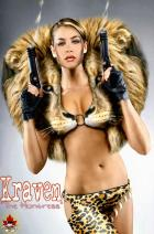 "Karima Adebibe as... ""Kraven the Huntress""..."