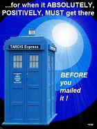 November Challenge - Tardis Express