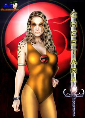 Victoria Pratt as Cheetara by MilleniumBum