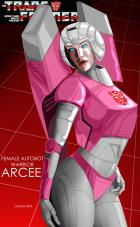 Arcee: Female Autobot