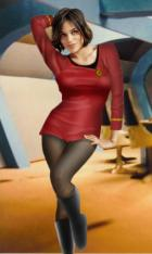 Rosario Dawson as Uhura