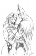 Pencils #2 Batman and Wonder Woman