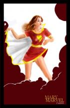 "Mary marvel ""pin up"""