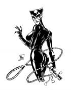 Catwoman: Black and White