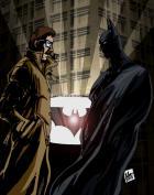 The Batman and Lt. Jim Gordon