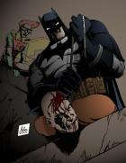 Batman and Robin: Frank Miller style