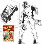 Draw Off #3 Ultimate Captain Marvel/Shazam
