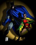Batman with Robin The Boy Wonder