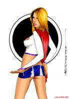 Supergirl Cheesecake 1