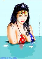 Wonder Woman Cools Off