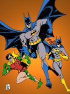Classic Bat-trio