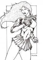 Girl of the Week: Lady Blackhawk