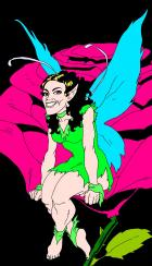 Fairy by VagabondX colors by me