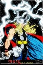 Thor by Pat2004 Colored by Cypher389 Lady HM's coloring challenge #5