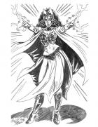 Scarlet Witch in Pencil