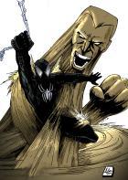 Spidey Time: Black Suit Spidey vs Sandman