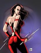 Elektra: Movie Costume