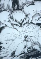 Dragonman Vs The Invisible Woman