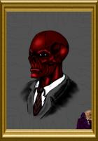Da Red Skull - DarqueImages Colored By me