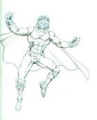 Marvel Boy (refit) draw/off challenge