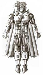 Marvel Boy - Manga Style
