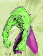 Hulk - by BioHazzard -- Colors by WebGeek