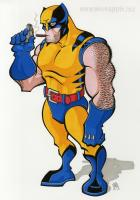 WOLVERINE: Time for a stogie . . . . . by KER1