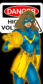 Voltage - Artist Thayne_Luc - Character and Color by Webgeek