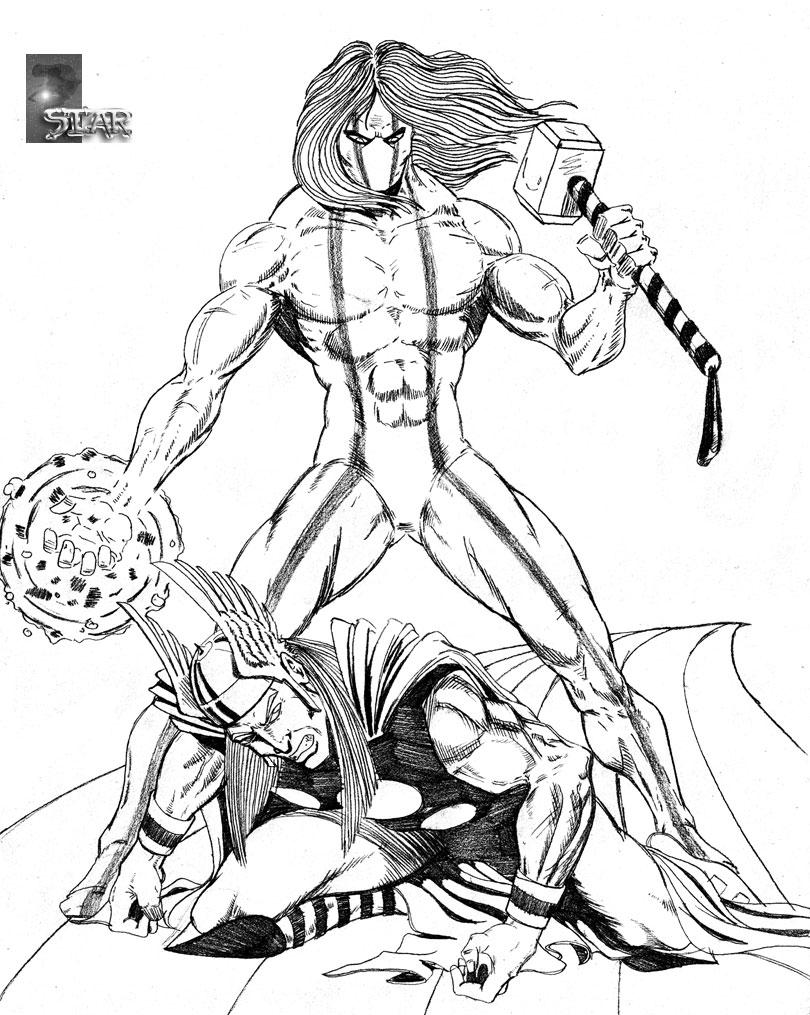 Draw/Off #8 - Winterhawk vs Thor