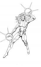 Mindwave drawing by Tazman