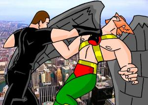 Zion vs Hawkman