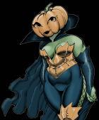 Halloween silliness.