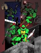 TMNT Eastman and Laird style
