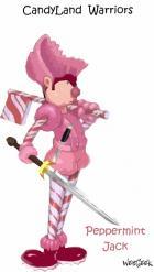 "Candy Land Warriors - ""Peppermint Jack"""