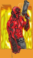 Hellboy - By Shade - Color by Webgeek