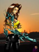 Witchblade by Newbachu..Color by me