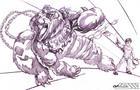 Heromorph Draw/off #4 (Winnie the PooP)