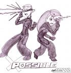 Draw Off #9 - Kim Possible = X-Possible