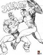 Draw/Off#8 - Sam Savage vs Capt. America