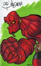 Hellboy '05: markers