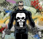 THE PUNISHER : Graffiti wall