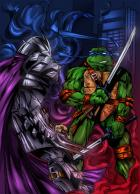 Leo VS Shredder