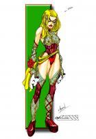 Lady Heromorph's Challenge #3 - Ms. Dawn