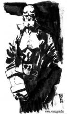HELLBOY: Commish . . . . by Alex Maleev